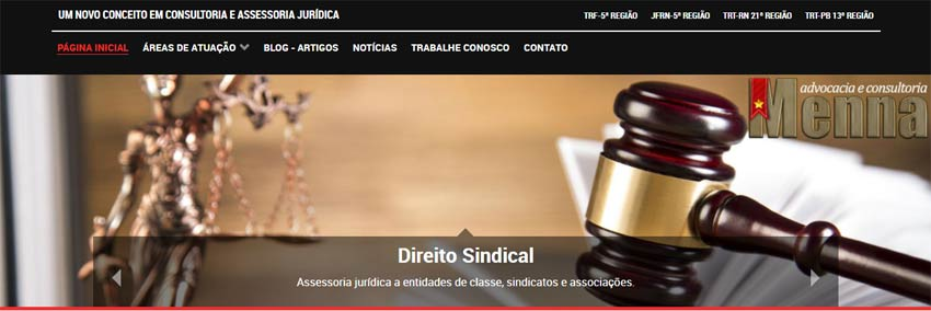 Topo-Website: Menna Advocacia e Consultoria